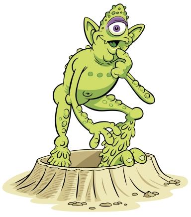 Alien-GreenCyclops