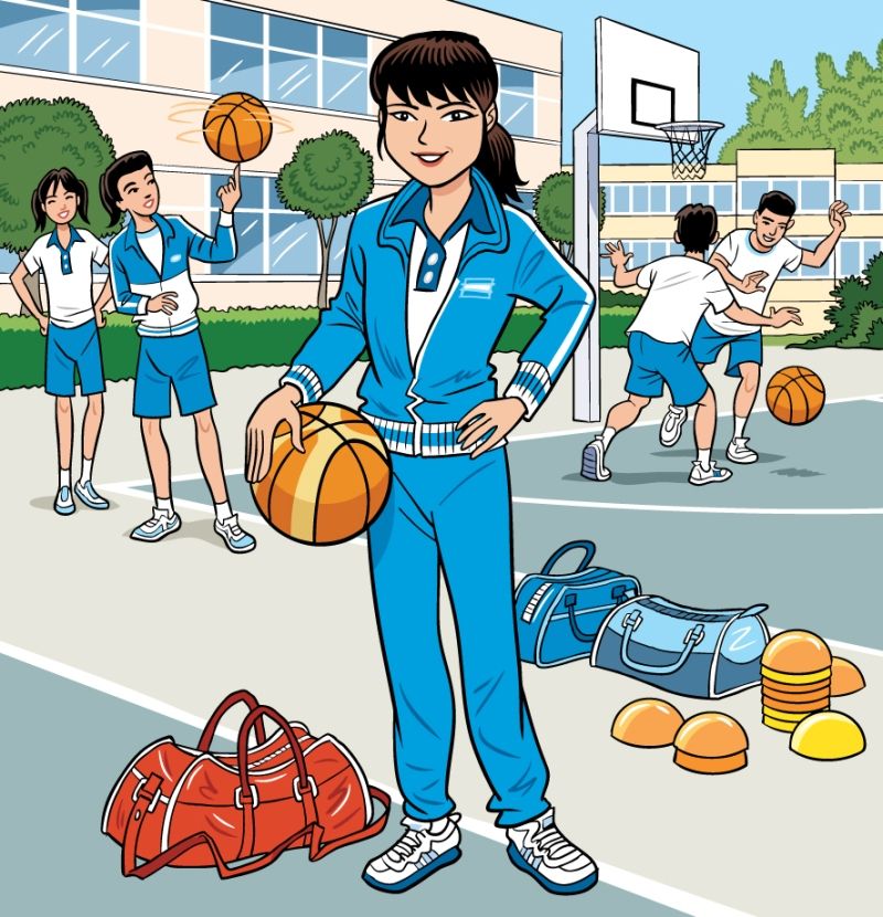EducationalPublishing-FemaleBasketballPractice