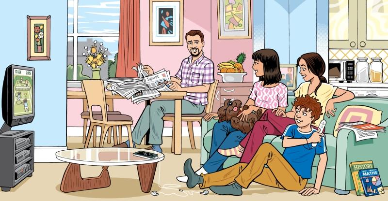EducationalPublishing-Sofa+WiiTennis