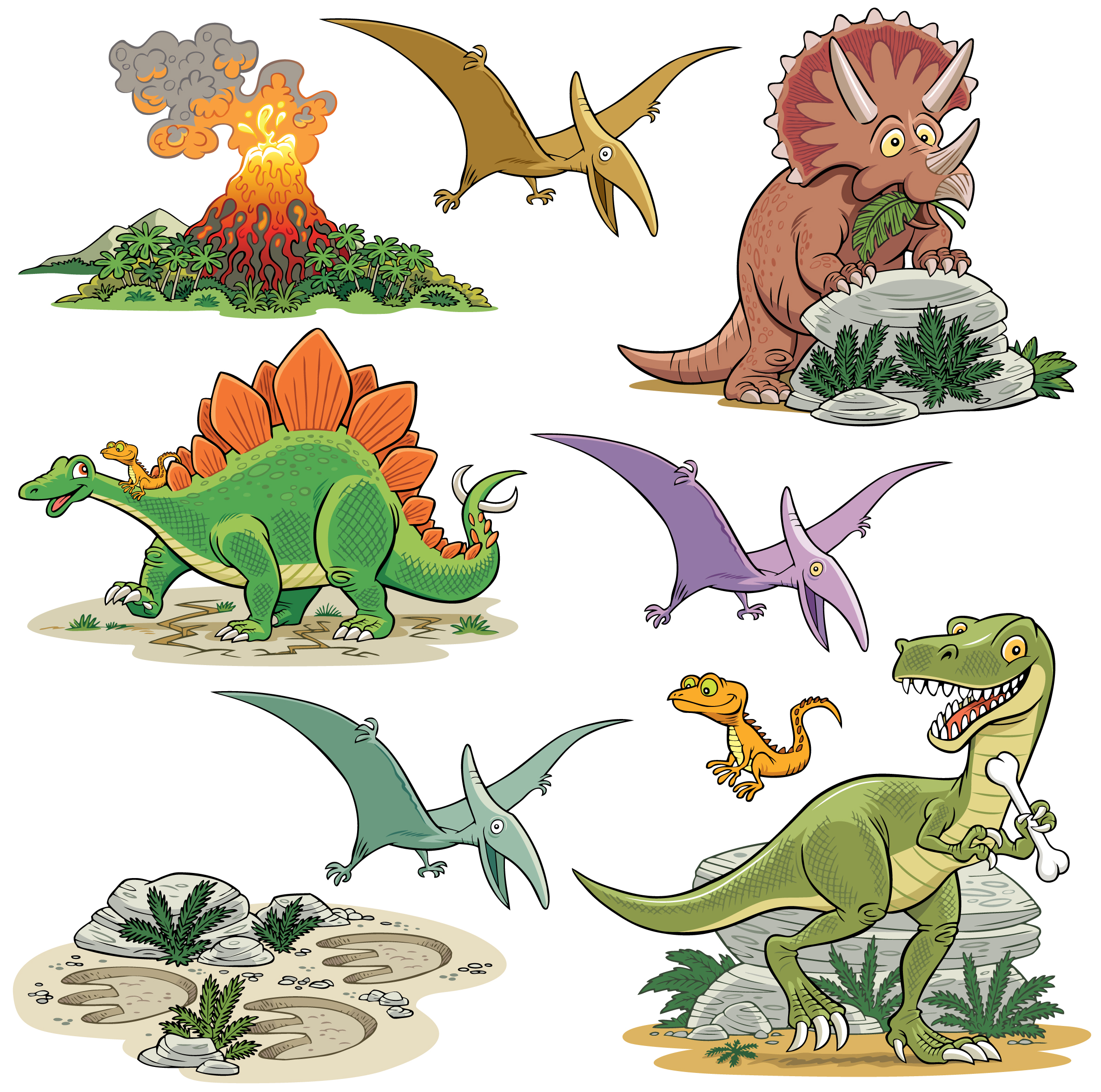 dinosaur wall stickers geo parkin